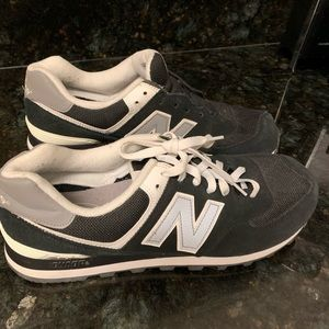 New Balance Blue Suede size 12